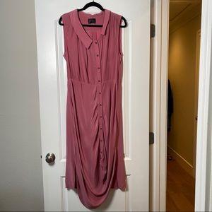 Rachel Comey Pink Silk Sleeveless Dress